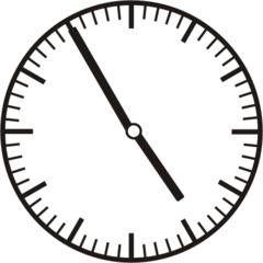 Uhrzeit 4.55 - 16.55 - Uhr, 5 Minuten vor, Uhrzeit, Zeit, Zeitspanne, Zeitpunkt, Zeiger, Mechanik, Zeitskala, Zeitgeber, Analoguhr, Zifferblatt, Ziffernblatt, rechtsdrehend, Uhrzeigersinn, Minute, Stunde, Kreis, Winkel, Grad, Mathematik, Größen, messen, time, clock, ermitteln, Zeitraum, Dauer, Frist, Termin, Zeitabschnitt