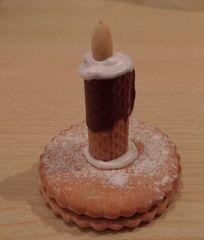 Köstlichkeiten zu Advent #2 - Kerze, Waffel, Mandel, Gebäck, Plätzchen
