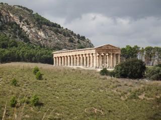 Dorischer Tempel #1 - Griechen, dorisch, Tempel, Antike, Griechenland, Architektur