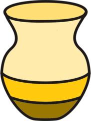 Vase gelb - Vase, Wohnzimmer, Blumenvase, Blumen, Anlaut V