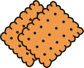 Butterkekse - Keks, Kekse, Plätzchen, Süßigkeit, Gebäck, Anlaut K, zwei, Mehrzahl