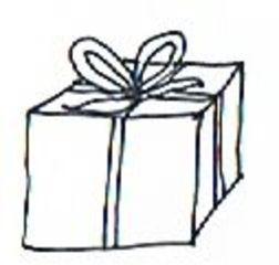 Geschenk - Geschenk, Päckchen, Paket, Weihnachten, Weihnachtsmann, Christmas, Father Christmas, Santa Claus, present, gift, Geschenk, Schleife