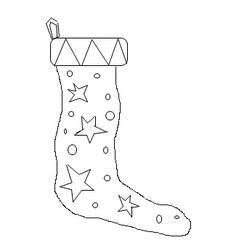 Weihnachtsstrumpf/Christmas Stocking - Weihnachten, Weihnachtsmann, Christmas, Father Christmas, Santa Claus, Christmas stocking, sweets, presents, Weihnachtsstrumpf, Nikolausstrumpf