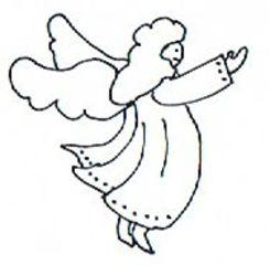 Engel - Weihnachten, Advent, Christmas, angel, Engel, Weihnachtsengel, Illustration, Wörter mit ng