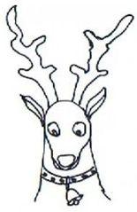 Rentier - Rentier, Weihnachtsmann, Weihnachten, Advent, Christmas, reindeer, Santa Claus, Father Christmas, Wörter mit ie