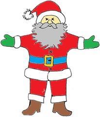 Weihnachtsmann#2 - Weihnachten, Weihnachtsmann, Christmas, Father Christmas, Santa Claus