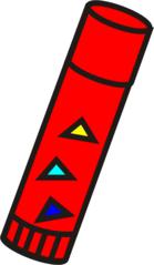 Klebestift - Klebestift, Kleber, Uhu, kleben, Anlaut K