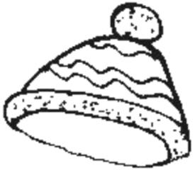 Mütze - Mütze, Wollmütze, Kleidung, hat, woolly hat, clothes, Kleidung, aufsetzen, Bommel, warm, Anlaut M, Pudelmütze, Haube, stricken, Kopfbedeckung, Pudelmütze