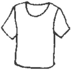 T-shirt - T-shirt, Kleidung, clothes, vêtements, Kleidung, clothes, Hemd, Leibchen, Leiberl, Kleidungsstück, Ärmel, kurz, Ausschnitt, V-förmig, Shirt, Anlaut T