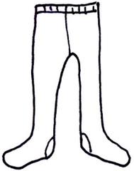 Strumpfhose - Strumpfhose, Kleidung, tights, clothes, Strumpf, Hose, Bekleidung