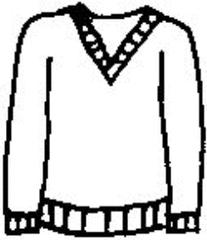 Pullover - Pullover, Strickpullover, Wollpullover, Oberbekleidung, Kleidung, jumper, sweater, clothes, Pulli, pull, vêtements, gestrickt, gewirkt, Wolle, lange Ärmel, warm, Jumper, Ausschnitt, Bündchen, Anlaut P, Wörter mit v