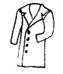 Mantel - Mantel, coat, clothes, Kleidung, Kleidungsstück, Kragen, Revers, wetterfest, warm, knielang, Knöpfe, zuknöpfen, Anlaut M