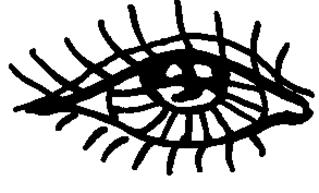 Auge 1 - Körper, Körperteile, body, body parts, Auge, Wimpern, Iris