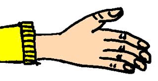 Hand - Hand, Finger, Körper, Körperteile, body, body parts, hand, finger, Anlaut H