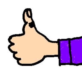 Daumen - Daumen, Finger, Hand, Körper, Körperteile, body, body parts, thumb, finger, hand, thumbs up, Daumen hoch, gut, prima, Lob