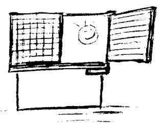 Tafel - Tafel, Schreibtafel, Schultafel, Kreidetafel, Wandtafel, board, blackboard, chalkboard, Schule, schreiben, abwischen, Schwamm, Lappen, Kreide, Tafelkreide, Schule, Klassenraum