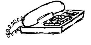 Telefon - Telefon, telefonieren, anrufen, Büro, Einrichtung