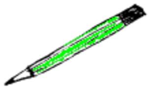Bleistift - Bleistift, Stift, pencil, schreiben, zeichnen, Schule, Schulsachen, Unterricht