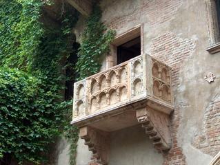 Balkon der Julia - Balkon der Julia, Romeo, Verona, Balkon, Italien