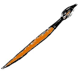 Pinsel - Pinsel, Farbkasten, Wasserfarbkasten, Ruschkasten, malen, tuschen, pinseln, Kunst, Schule, Unterricht, Farben, bunt, Schulsachen