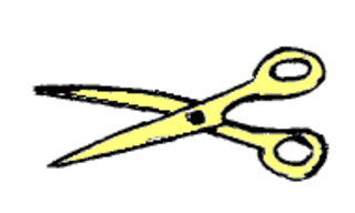 Schere - Schere, schneiden, ausschneiden, Schulsachen, Schule, Unterricht