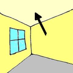 Zimmerdecke - Zimmerdecke, Decke, Zimmer, Haus, Raum, Klassenraum, Wörter mit ck