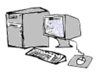 Computer - Computer, Rechner, Tastatur, Maus, Monitor, Unterricht, Schule