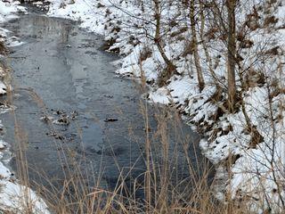 Eindruck vom Winter - Winter, winterlich, Schnee, Eis, vereist, kalt, Kälte, Aggregatzustand, Wasser