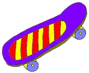 Skateboard - Skateboard, Sport, Spielsachen, Spielzeug, skaten, Freizeit