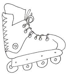 Inliner - Inliner, Inlineskates, Roller Skates, Roller Blades, Spielzeug, Spielsachen, Sport, spielen