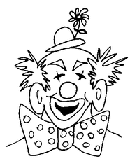 Clown - Clown, Cirkus, Karneval, lustig, bunt, Karnerval, Zirkus, Fasching, Kostüm, lachen, Spaß