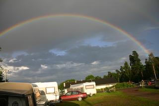 Regenbogen - Regenbogen, Hauptregenbogen, Nebenregenbogen, Farben, Spektralfarben, Optik, Brechung, Wetter, Wolken, Lichtbrechung, Regenbogenfarben