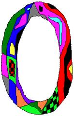 Null - Null, Zahl, Ziffer, Muster, Kunst, Mathematik