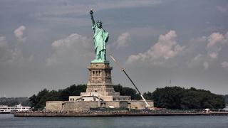 Statue of Liberty, New York - Freiheitsstatue, Statue of Liberty, Lady Liberty, Manhattan, Hafen, New York City