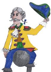 Münchhausen - Münchhausen, Lügenbaron, Lügengeschichte, Fantastisches, Kanonenkugel, Literatur, Lügen, Baron, Freiherr, Adeliger, Abenteuer