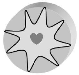 Praline s/w - Praline, Konfekt, Schokolade, Süßware, Glück, Liebe, verliebt, Geschenk, lecker, süß, Zeichnung, Illustration