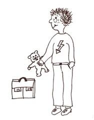 Spielsachen in die Tasche - Klassenregel, Spielsachen, Symbolkarte, Organisation, Spiel, Regeln, Schreibanlass