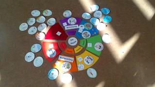 Die Woche - Wochentage, Woche, Tage, Legekreis, eigen gestaltete Kreise