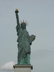 Statue de la liberté#2 - Paris, Statue de la liberté, Freiheitsstatue, Seine, Île des Cygnes, Bartholdi