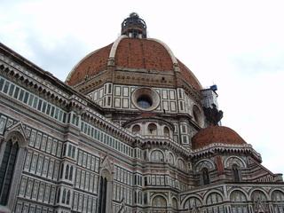 Florentiner Dom (Santa Maria del Fiore) - Florenz, Giotto, Ucello, Vasari, Dom, Kuppel, Architektur, Kathedrale, Marmor, Renaissance, groß, hoch