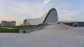 Kulturzentrum Baku #1 - Architektur, moderne Architektur