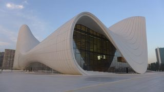 Kulturzentrum Baku #2 - Baku, Architektur, moderne Architektur, Zaha Hadid