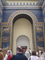 Das Tor von Ishtar - Pergamon, Berlin, Museum, Antike, Geschichte, Tor von Ishtar, Bogen, Tor