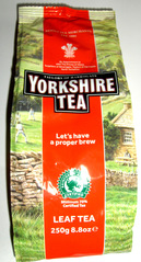 Very British #4 Tea - Tee, tea, english, breakfast, drink, package, bag, brew, leaf, leaves, Yorkshire