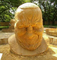 Skulpturen aus Sand #8a - Skulptur, Sand, Sandskulptur, Kunst, Kunstwerk, Bildhauerei