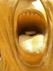 Skulptur aus Sand #8b/2 - Skulptur, Sand, Sandskulptur, Kunst, Kunstwerk, Bildhauerei