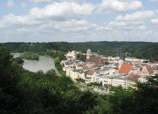Wasserburg / Inn # 01 - Wasserburg, Stadtansicht, Fluss