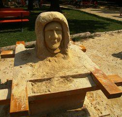 Entstehung der Sandskulpturen #3 - Anleitung, Skulturen, Sand, Sandskulpturen, Bearbeitung, Herstellung