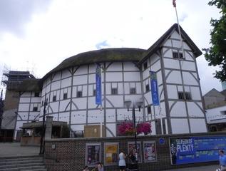 Shakespeare's Globe Theatre - Landeskunde, England, Shakespeare, Globe, Sehenswürdigkeit, Globe Theatre, Theater