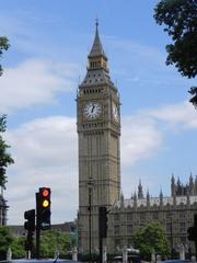 Big Ben - Big Ben, Parlament, London, Sehenswürdigkeit, Urlaub, Tourismus, England, Uhr, Turm, Gebäude